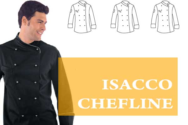 uniformes Isacco Chefline