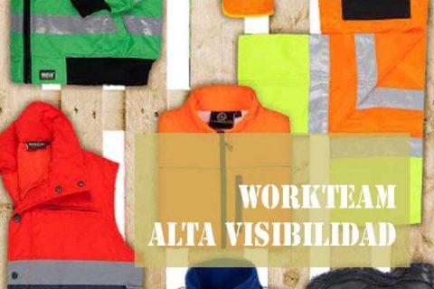 uniformes Workteam Alta Visibilidad