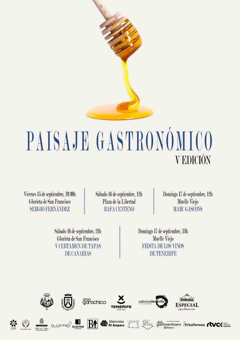 V Edición Paisaje Gastronómico Garachico Tenerife